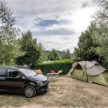 Camping Camping Dourbie, emplacement bord de rivière Gorges du Tarn - Flower camping